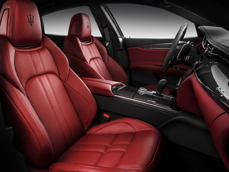 maserati quattroporte modelle neuheiten neu limousine limousinen schweiz interieur innenraum