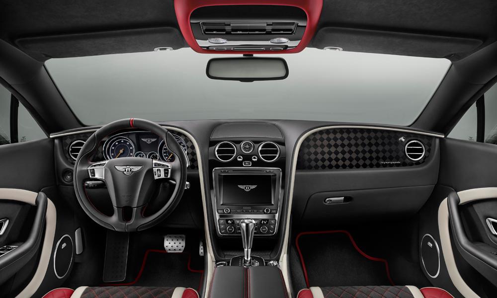 bentley continental supersports cabrio cabriolet convertible modelle neuheiten innenraum interieur