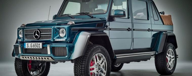 mercedes-maybach amg g-klasse geländewagen luxus offroad limitiert g-650 landaulet