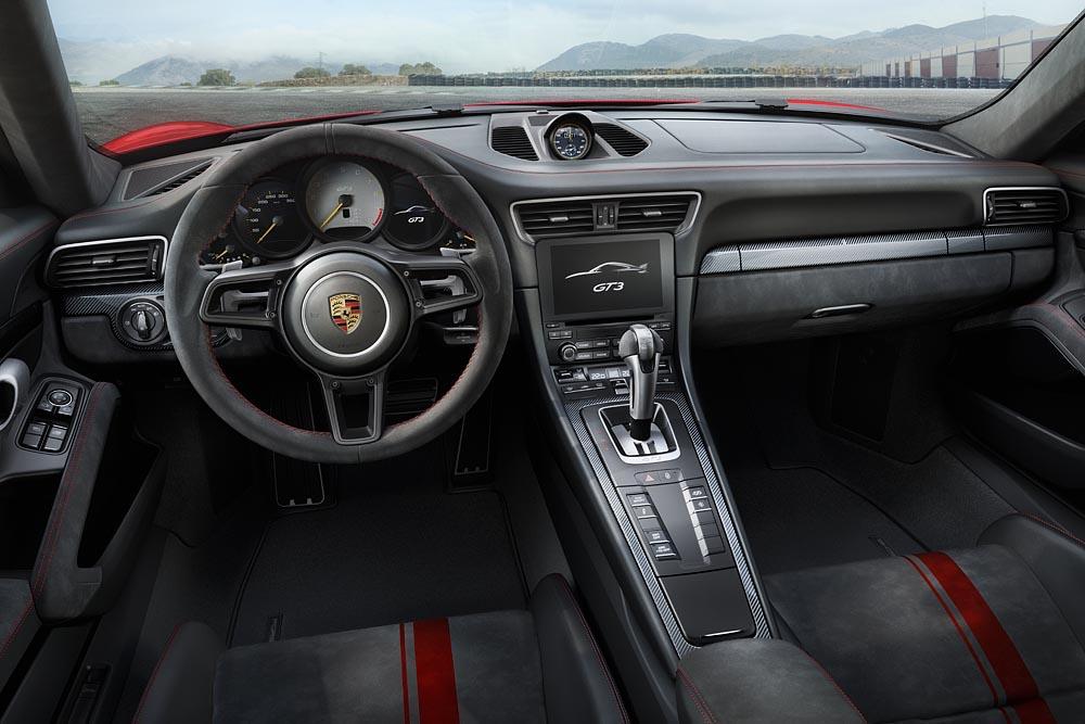 porsche 911 gt3 neuheit neuheiten autosalon genf 2017 rennstrecke