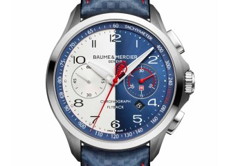 baume & mercier clifton chronograph timepieces watches luxury shelby cobra