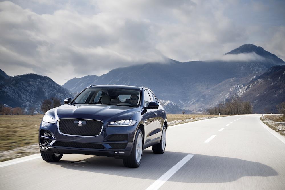 jaguar f-pace modelle 2018 neuheiten suv offroad turbo
