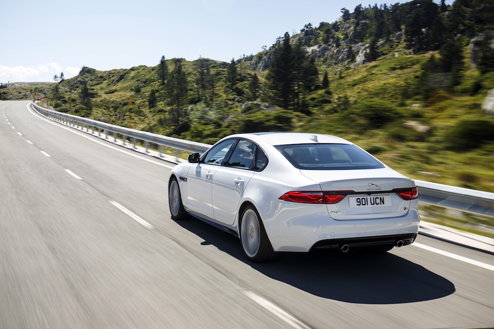 jaguar xf modelle neuheiten schweiz deutschland 2018 neue-modelle