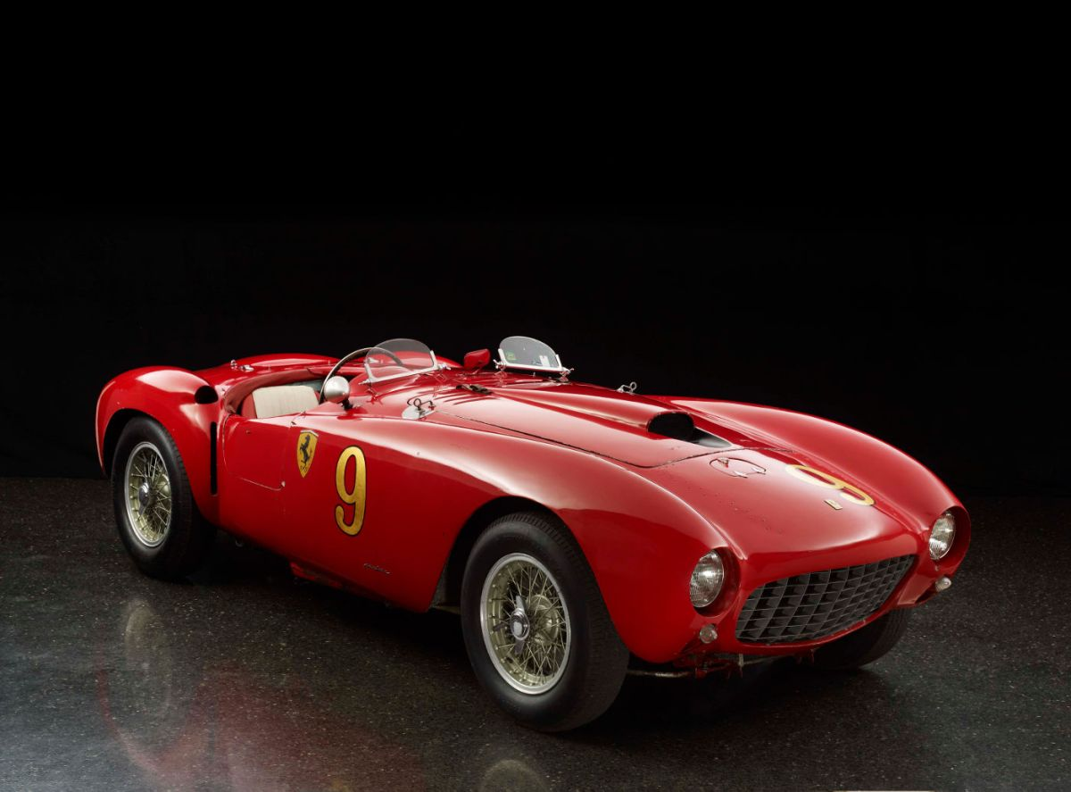 1953 Ferrari 375 MM Spyder by Pinin Farina (Gewinner The Quail, A Motorsports Gathering)