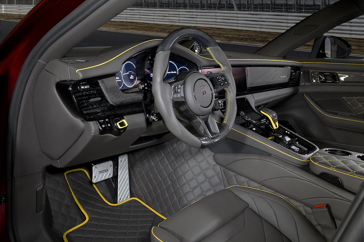 mansory porsche panamera veredelung tuning tuner veredler individualisierung cockpit