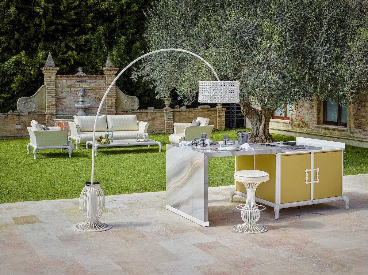 furniture furnishings outdoor kitchen kitchens shelves