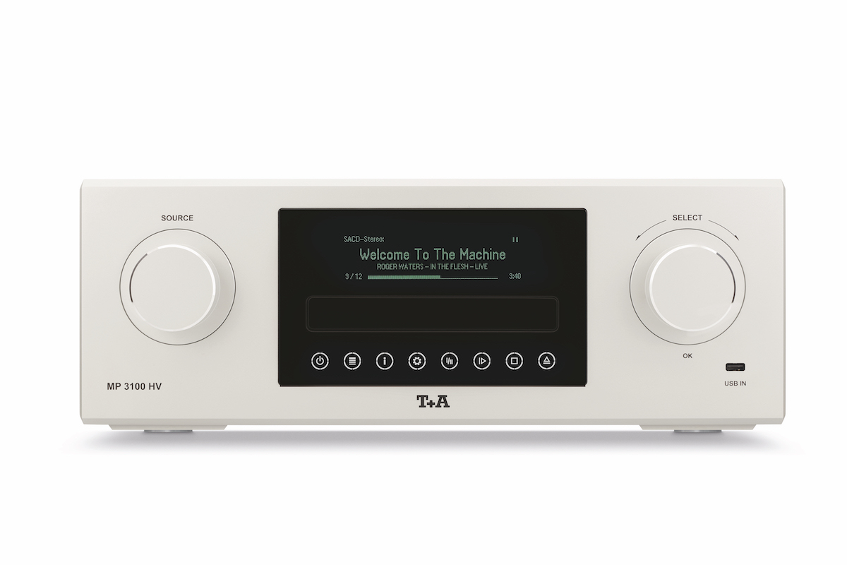 t+a elektroakustik multi source player audio sacd laufwerk decoder stream digital