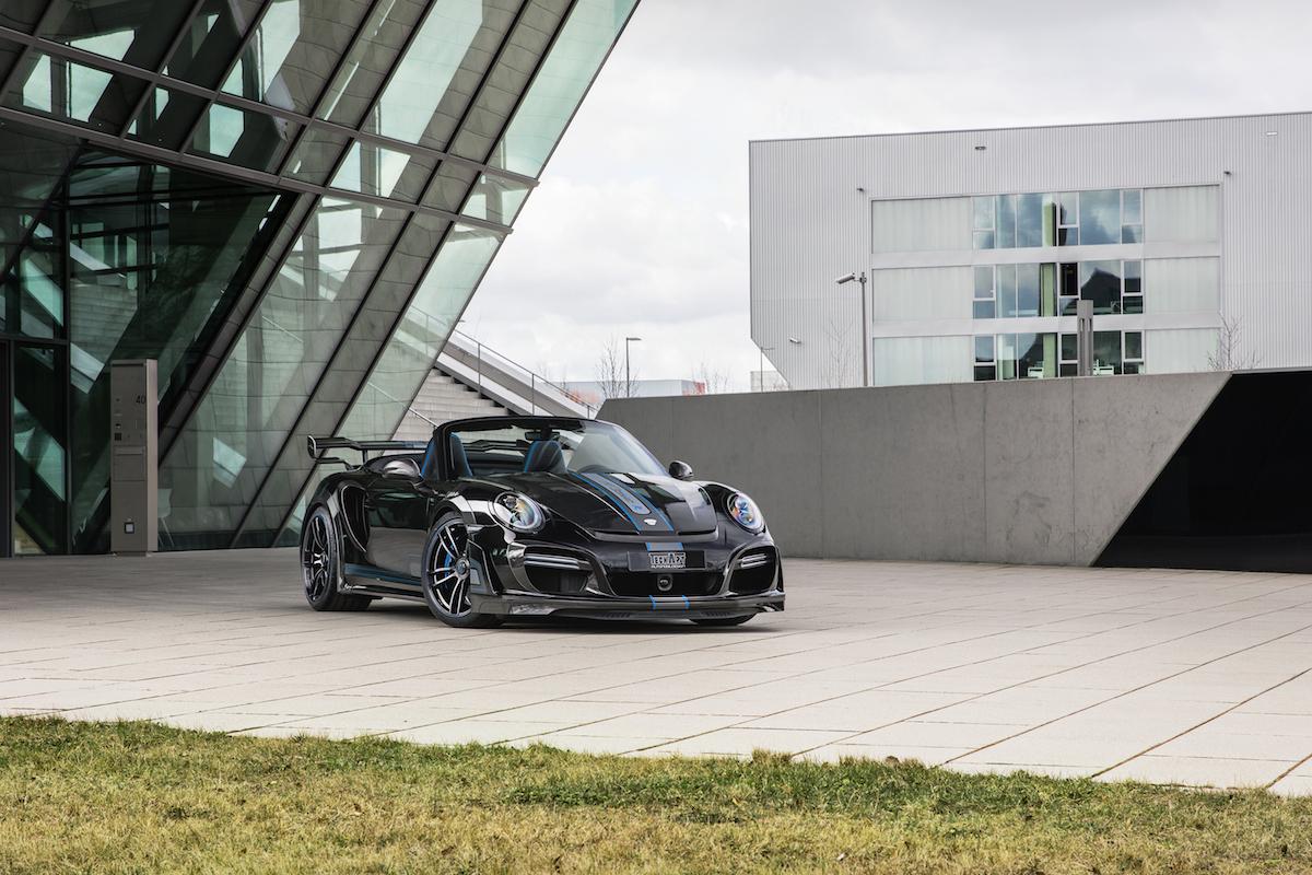techart gtstreet r cabriolet porsche 911 turbo cabrio modelle