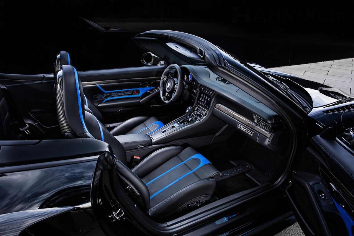 techart gtstreet r cabriolet porsche 911 turbo models cockpit