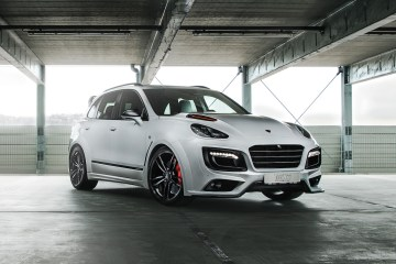 techart magnum sport edition 30 years porsche cayenne models