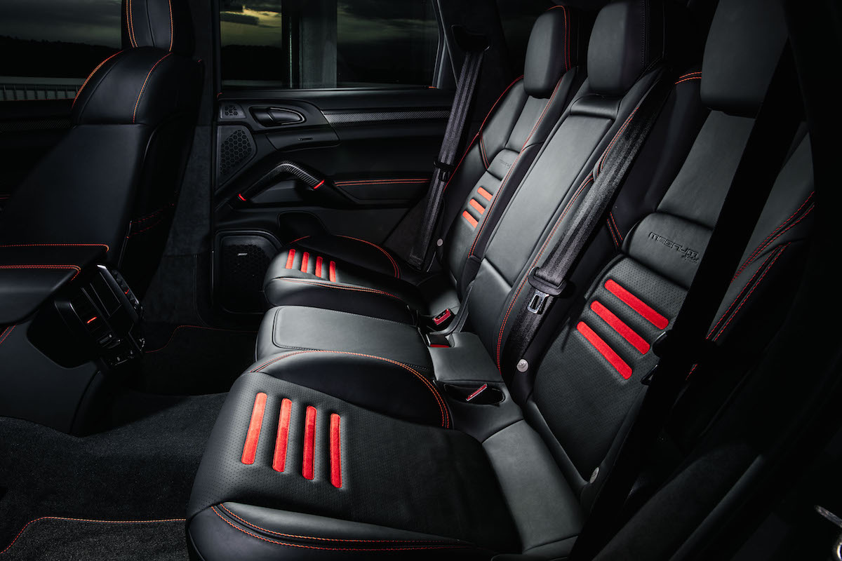 techart magnum sport edition 30 years sondermodell porsche cayenne interieur