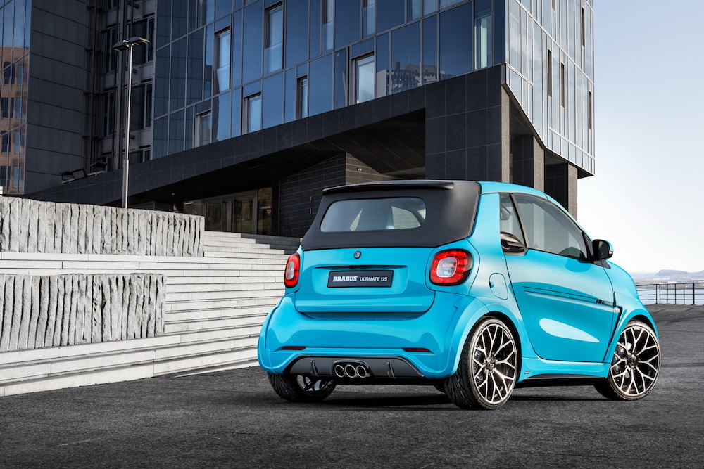 brabus ultimate 125 sportwagen smart fortwo cabrio cabriolet limited edition