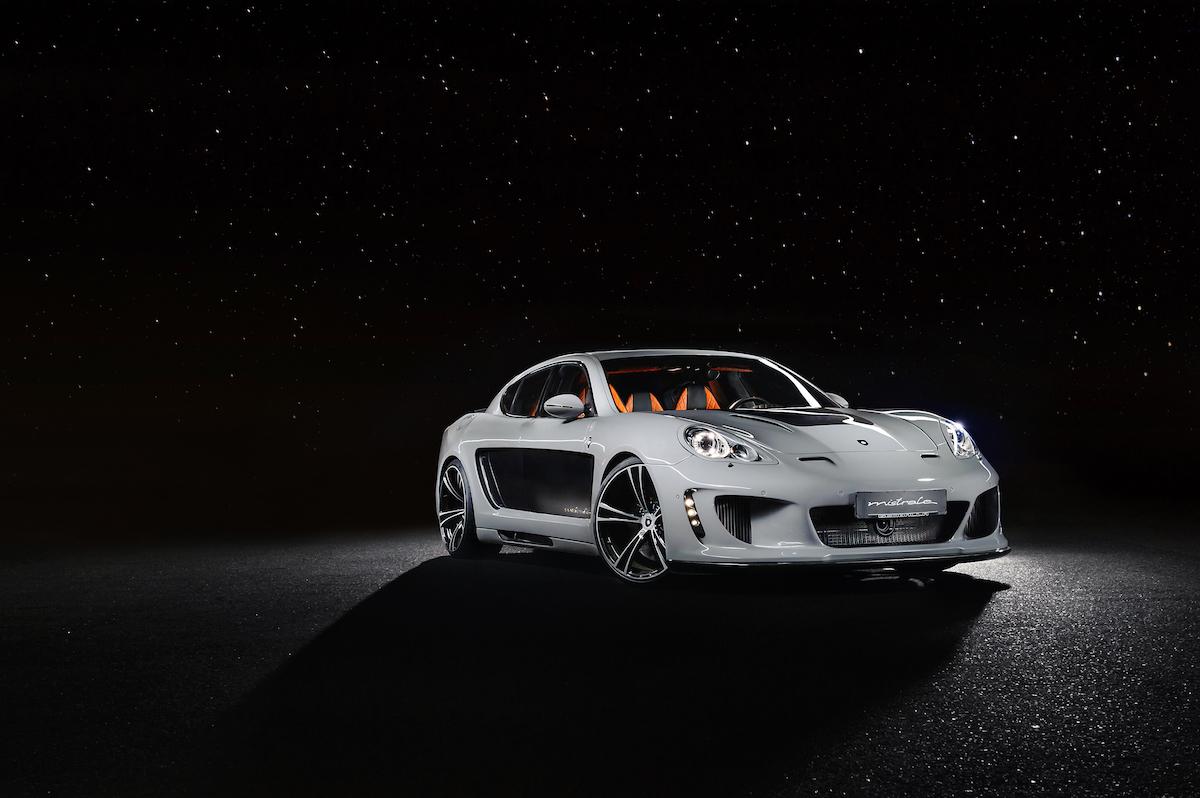 gemballa mistrale porsche panamera modelle carbon leistungssteigerung 911 luxuslimousine