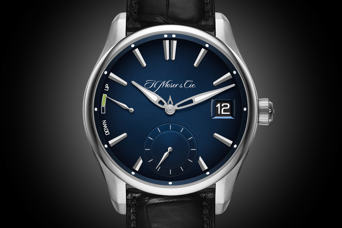 h. moser & cie steel watch watches complications perpetual calendar