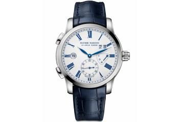 ulysse nardin dual time enamel swiss watch watchmaker collection