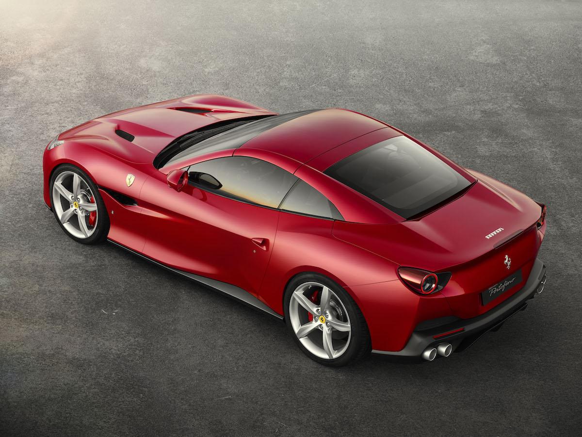 ferrari portofino cabrio cabriolet hard-top gt v8 motoren turbo achtzylinder beschleunigung technologie verdeck