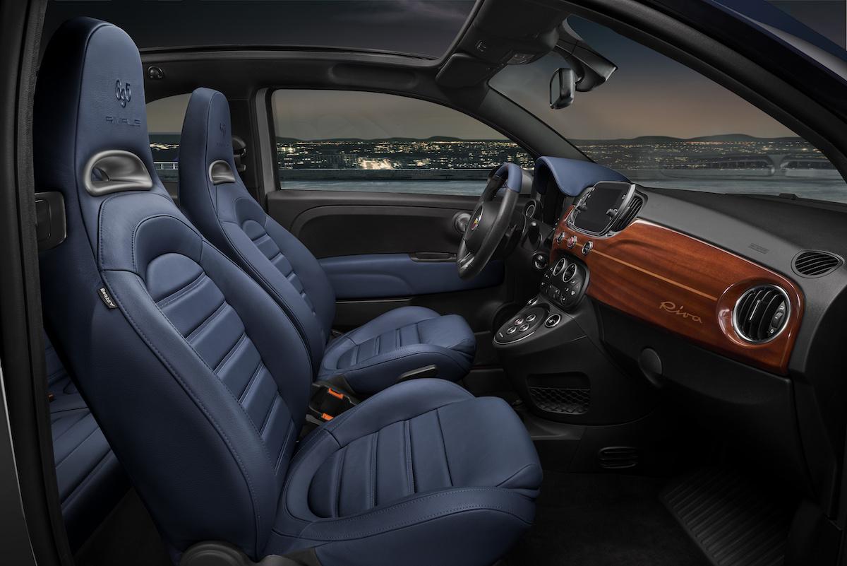 abarth 695 rivale limitiertes sondermodell modelle limousine cabriolet innenraum cockpit