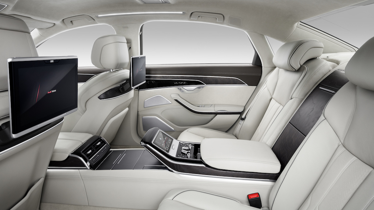 new audi a8 a8l sedan models model prices luxury interior materials bespoke automated-driving engines new-generation
