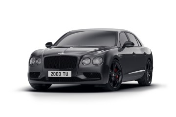 bentley flying spur black edition mulliner limousine luxuslimousine