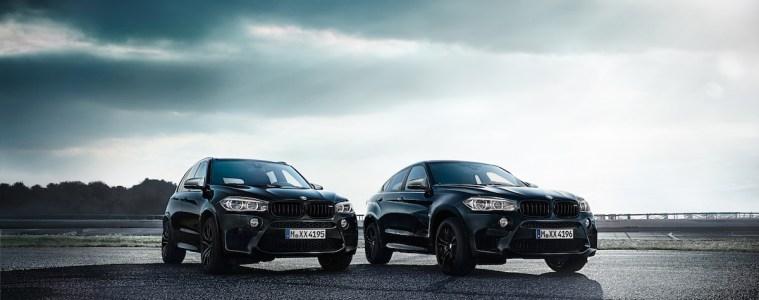 bmw-x5-m bmw-x6-m black fire sondermodelle sonderedition modelle sports activity vehicles sav coupe ausstattung lackierung carbon leichtbau