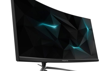 curved gebogener monitor acer gaming games monitore peripherie hd 3d technologie