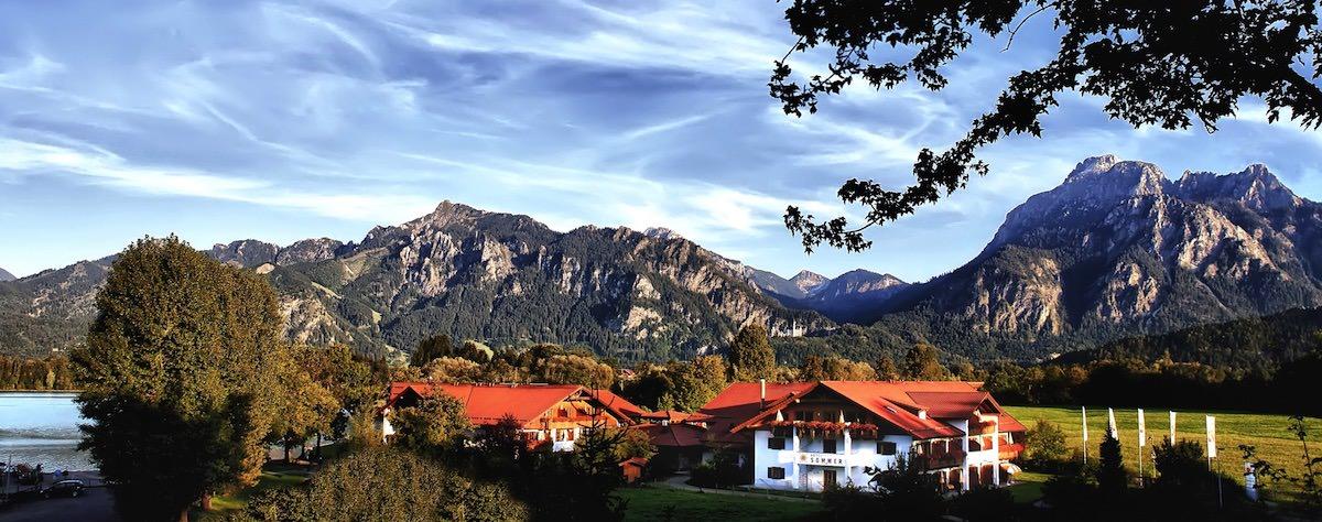 hotels luxus-hotels schweiz deutschland österreich tegernsee graubünden berner-oberland zillertal bayern allgäu zell-am-see berghotels wandern reisen natur berglandschaft entspannung alpen