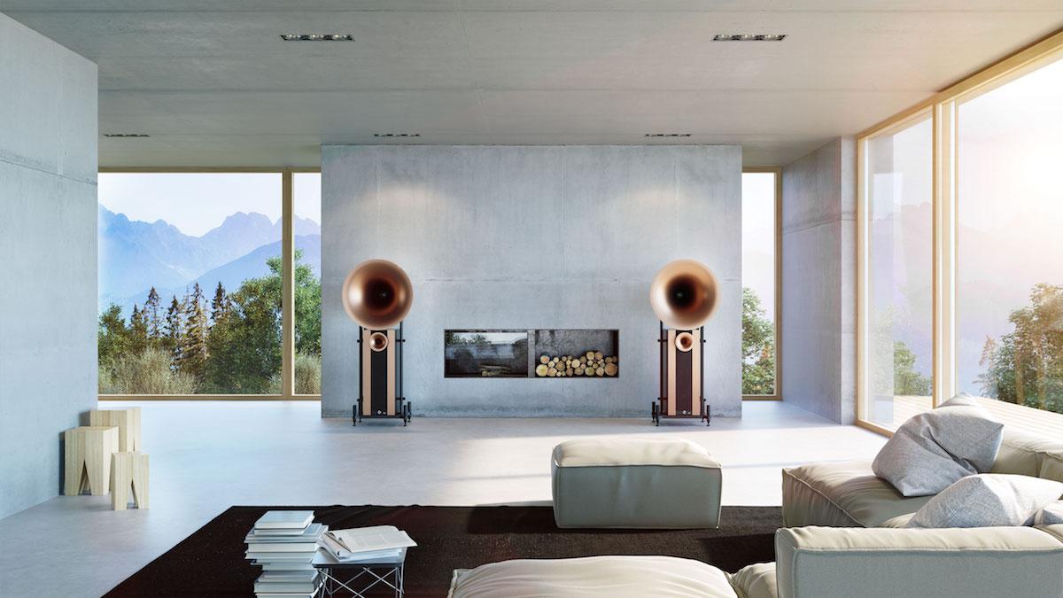 die high end lautsprecher von avantgarde acoustic sind. Black Bedroom Furniture Sets. Home Design Ideas