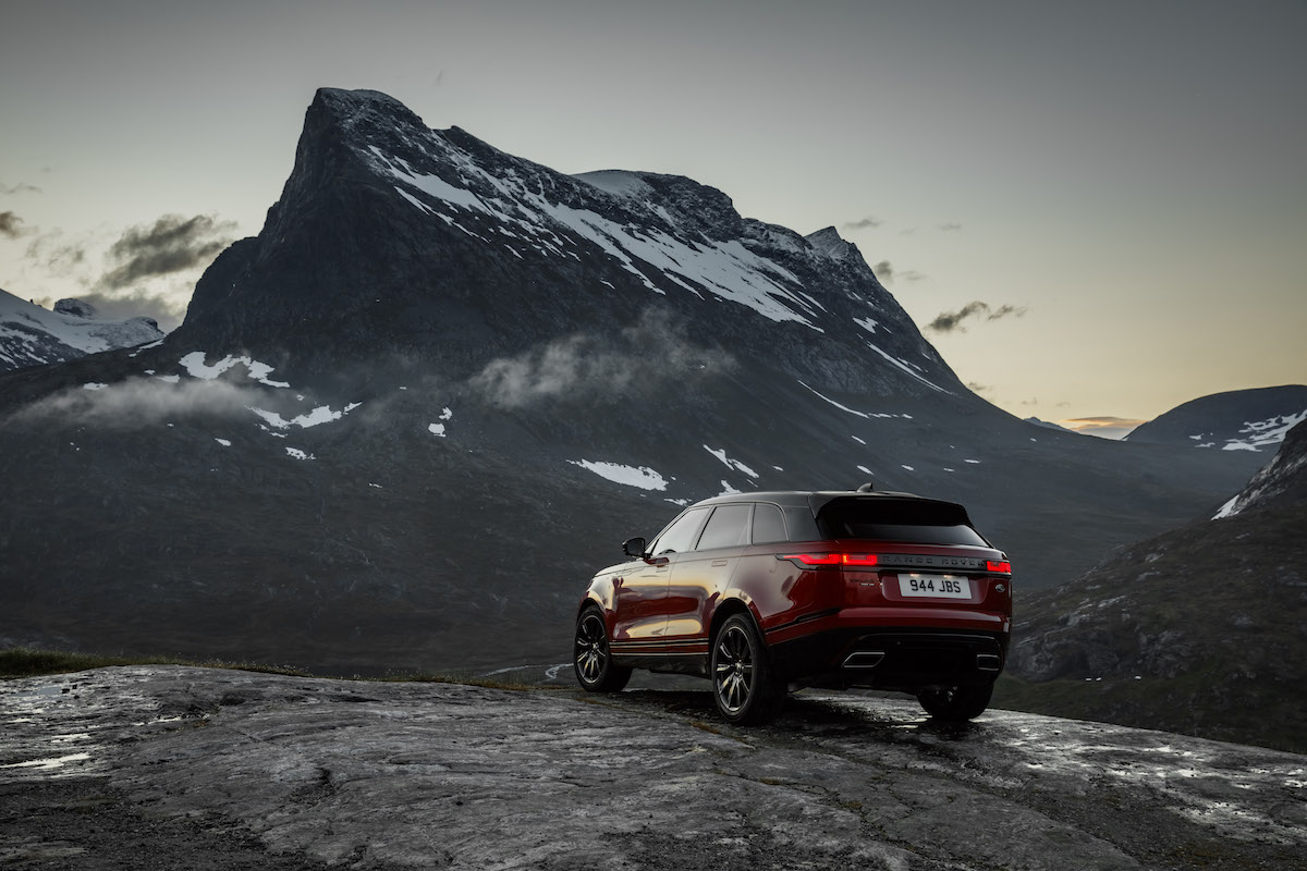 range rover velar new models innovation luxury premium suv sports utility vehicle petrol-engine