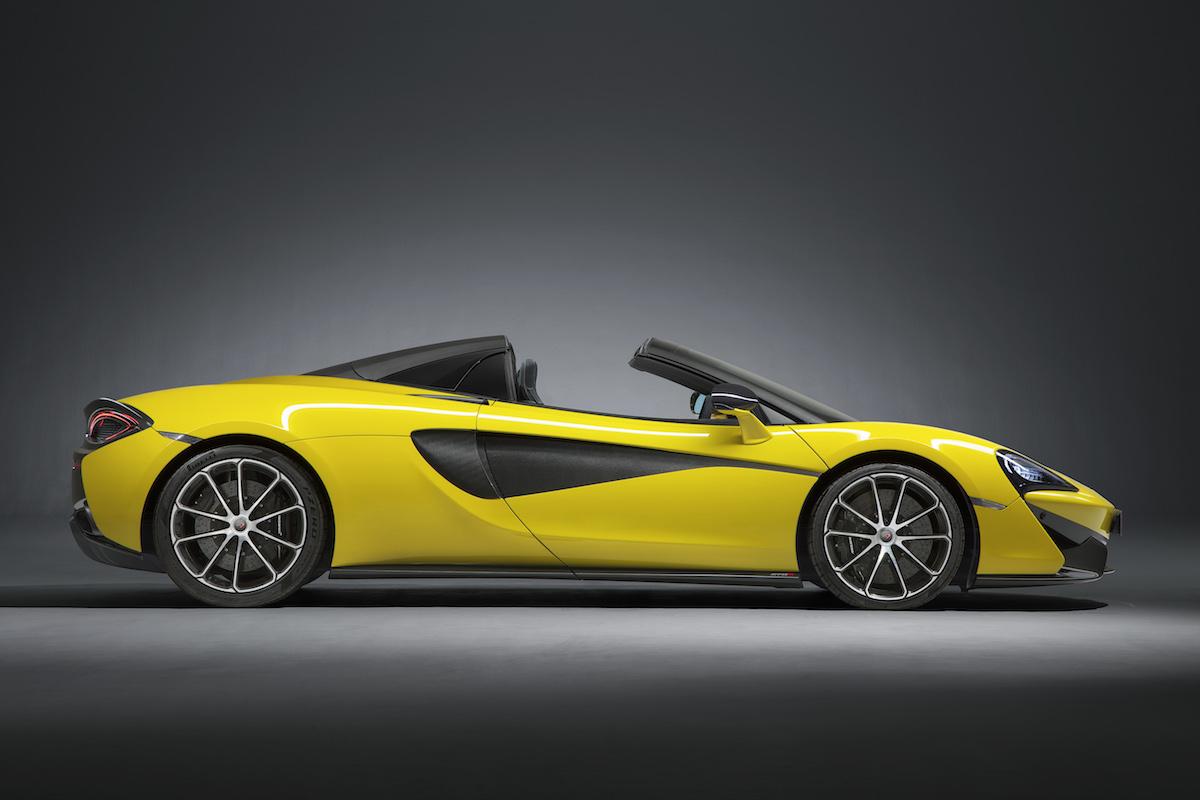 mclaren 570s spider coupe supercar sportscars cars models convertible convertibles hardtop driving acceleration drift