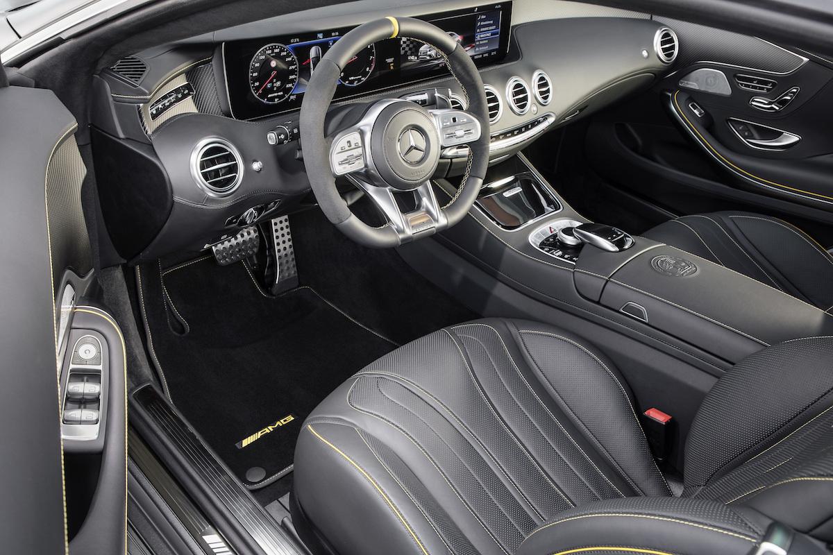 mercedes amg s 63 4 matic coupe cabriolet modelle neuheiten neu sondermodelle interieur innenraum