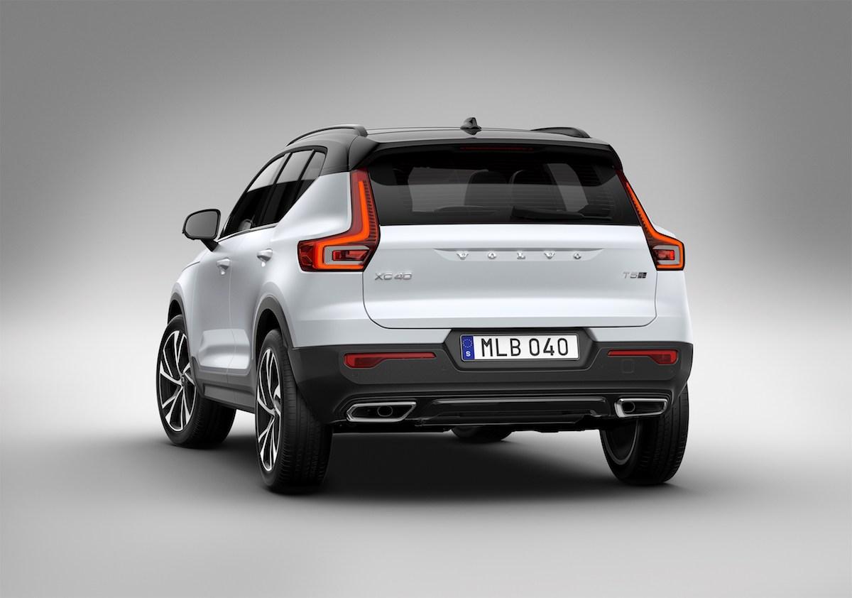 volvo xc40 kompakt suv sports utility vehicle modelle benzinmotor dieselmotor elektrisch elektrisch