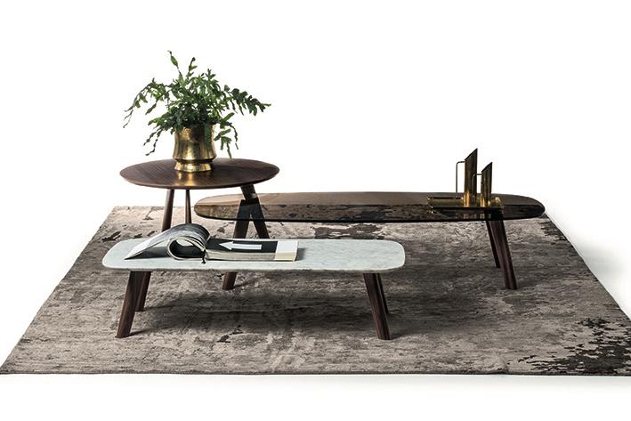 bross coffee table wood walnut oak sizes shapes living area