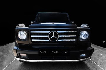 mercedes-benz amg g55 car