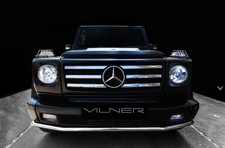 mercedes-benz amg g55 car