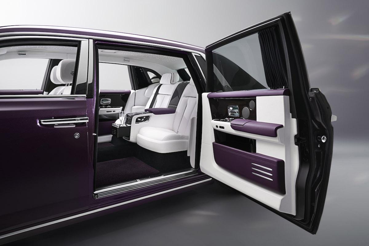 rolls-royce phantom modelle exterieur karosserie materialien design interieur innenraum spirit of ecstasy