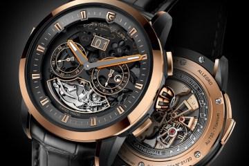 christophe claret luxury watches watch timepieces switzerland red-gold white-gold titanium new limited diamonds sapphires