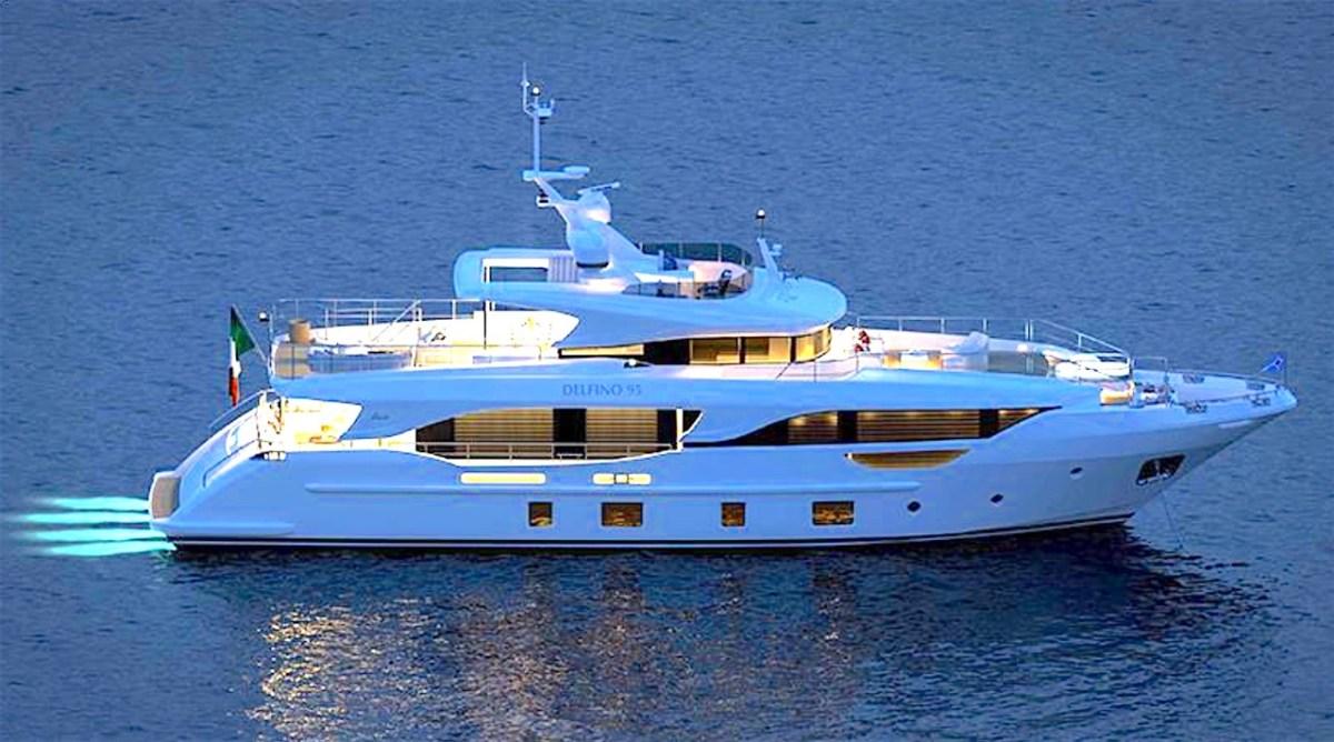 Benetti super yacht