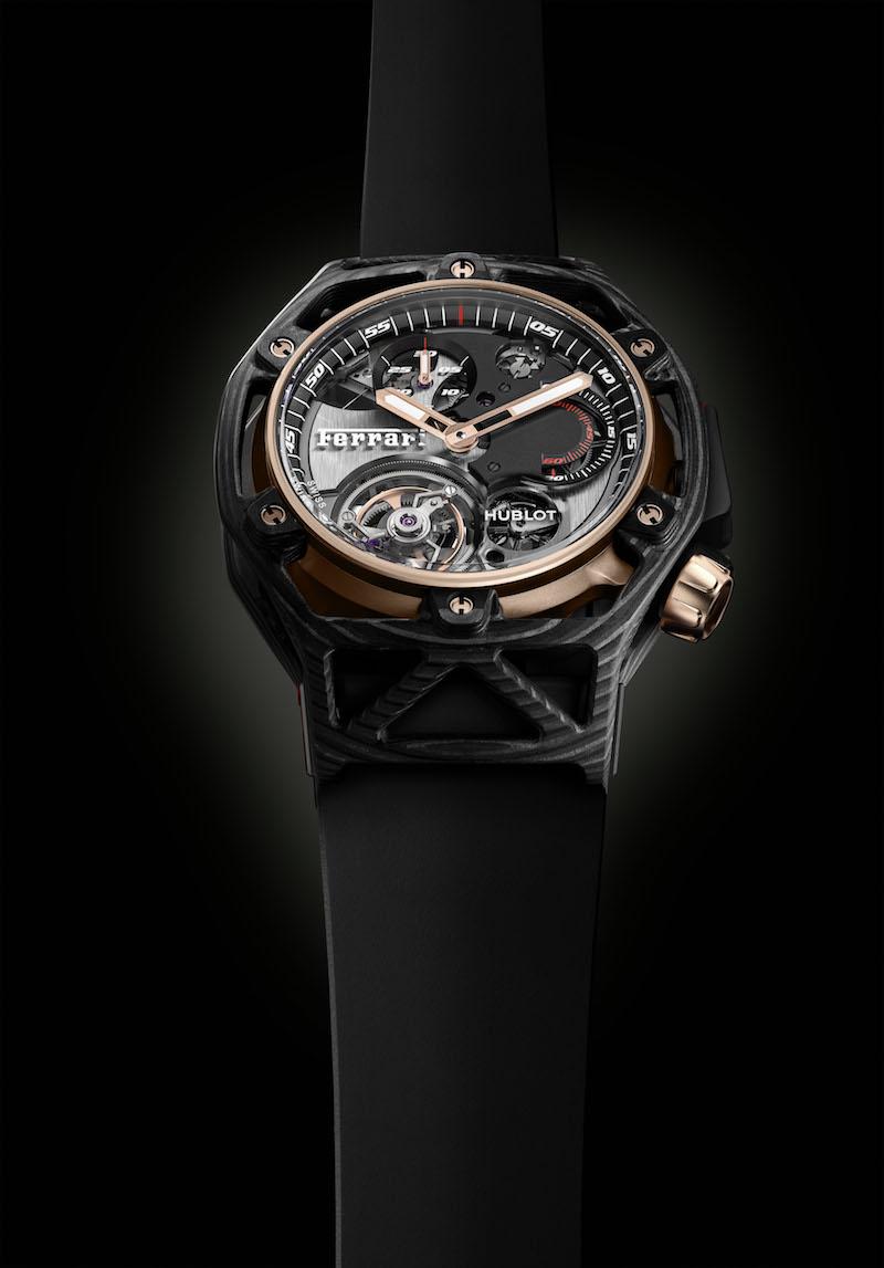 hublot ferrari swiss switzerland luxury-watches limited editions manufacture special edition chronograps tourbillons watch watches novelties