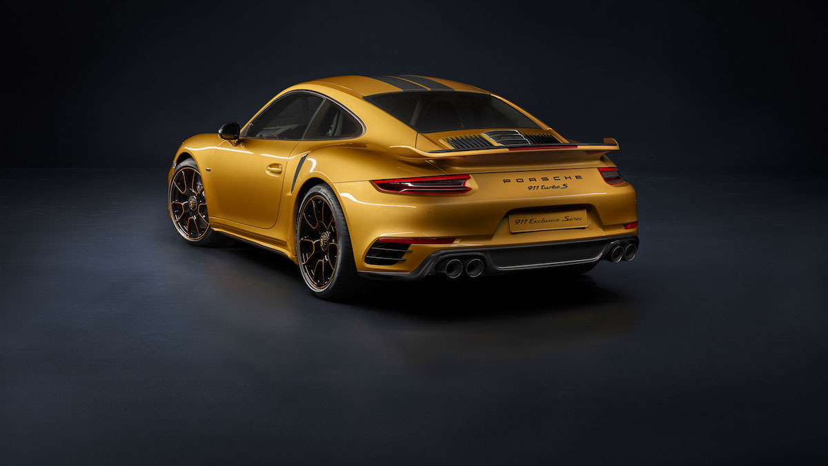 porsche 911 turbo s exclusive series porsche-911 limitiert uhren
