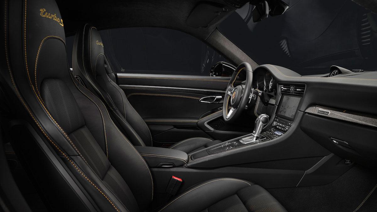porsche 911 turbo s model models limited special sports car interior