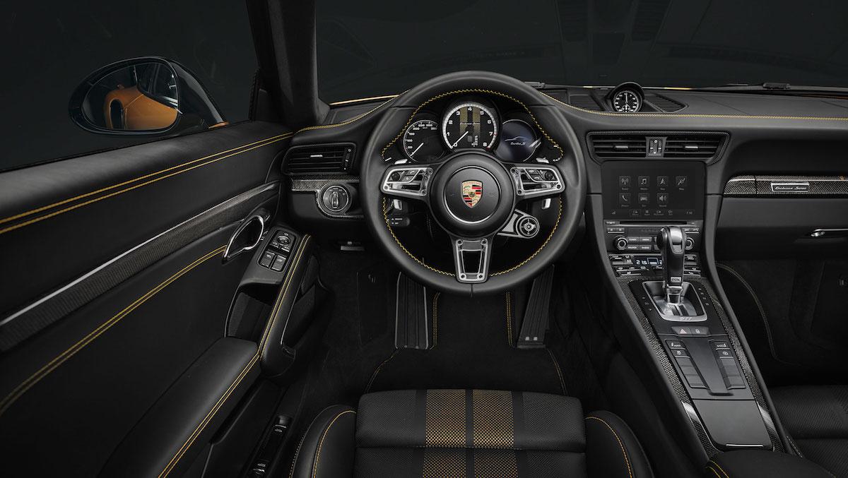 porsche 911 turbo s exclusive series porsche-911 limitiert innenraum