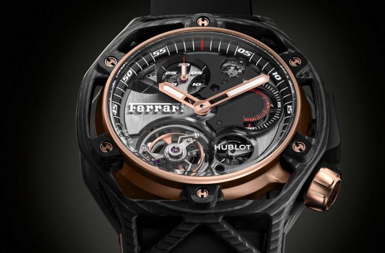 hublot ferrari luxusuhren luxusuhr automobil marken schweiz sammlerstück limitiert titan gold carbon uhrenmodelle uhren modelle