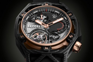 hublot ferrari swiss switzerland luxury-watches limited editions manufacture special edition chronograps tourbillons watch watches