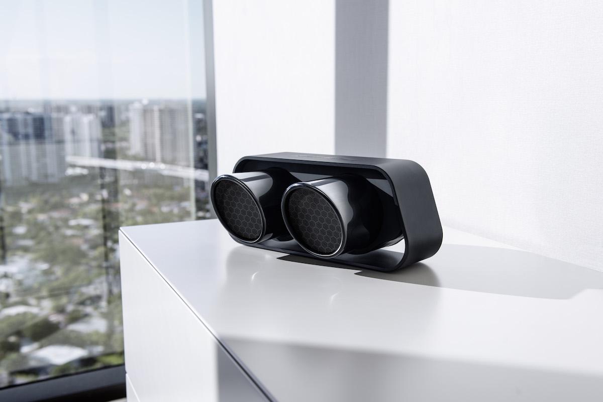 porsche-design lautsprecher speaker kabellos wireless bluetooth mobile smartphone tablet computer musik hifi