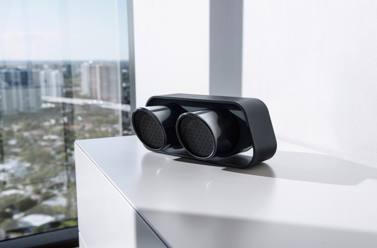 porsche-design lautsprecher speaker kabellos wireless bluetooth mobile smartphone tablet computer musik hifi