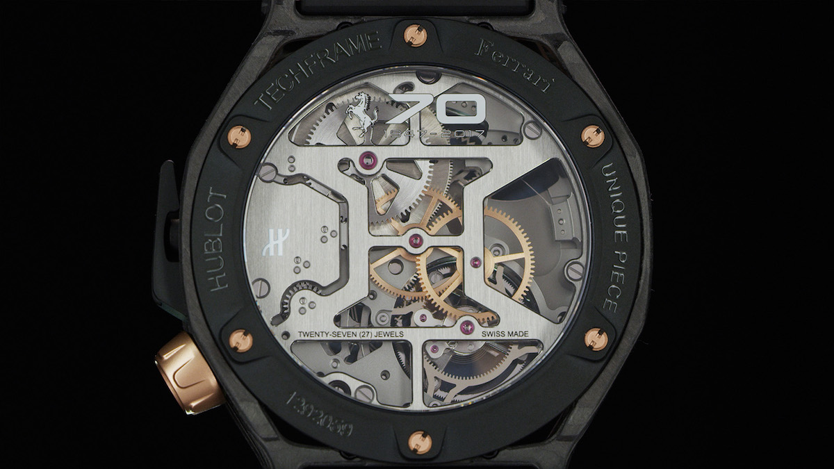hublot ferrari swiss switzerland luxury-watches limited editions manufacture special edition chronograps tourbillons watch watches new