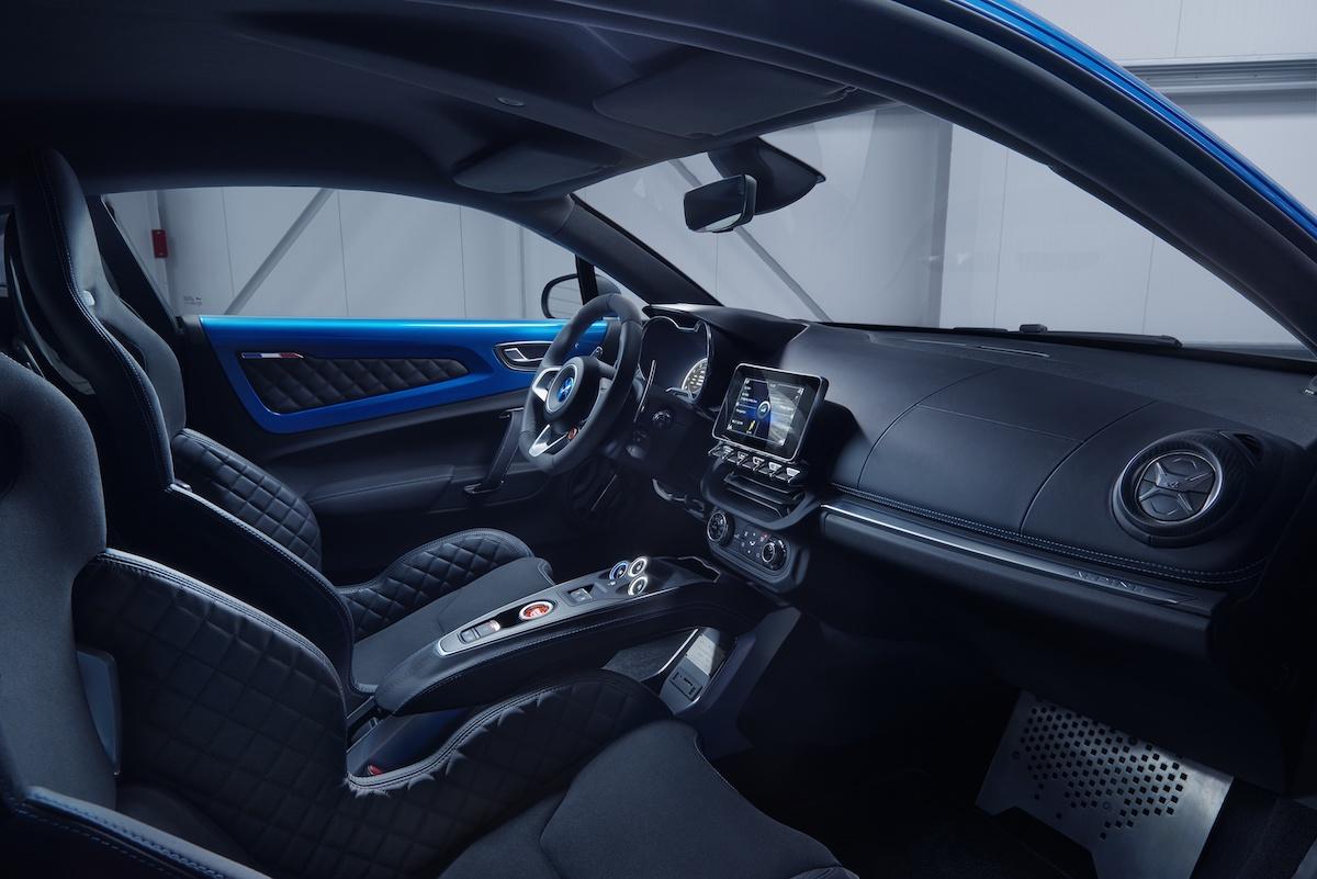 renault alpine a110 neuheit neu neues modell modele neue sportwagen interieur