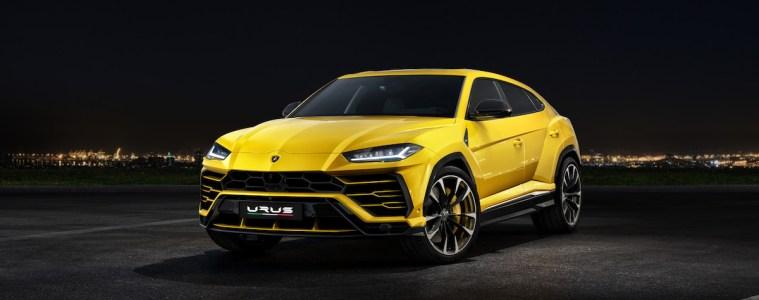 lamborghini urus suv sport utility vehicle geländewagen neu neuheit sportwagen modelle frontansicht