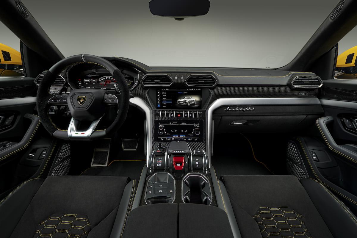 lamborghini urus suv sport utility vehicle geländewagen neu neuheit sportwagen modelle innenausstattung