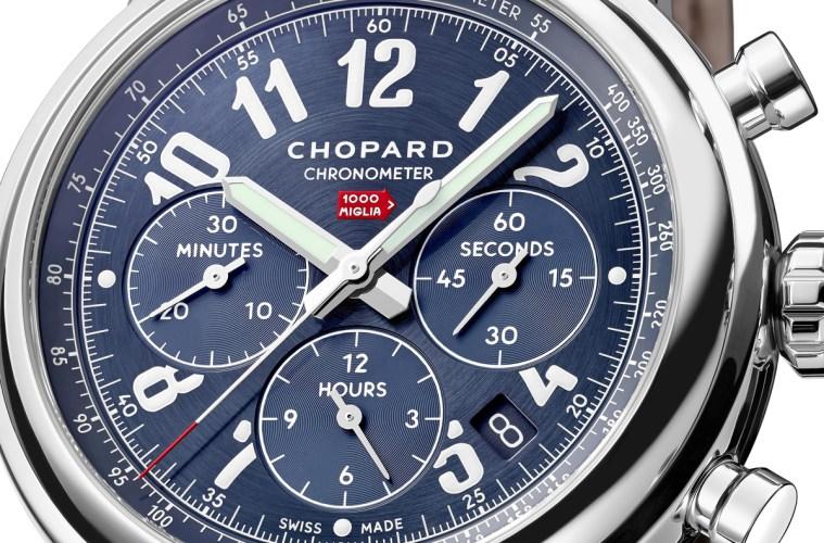 chopard chronographen chronograph mille miglia limitiert limitierte herrenuhren luxusuhren herren männer pilotenuhren automobil rennsport limited edition sportuhren sportliche uhren